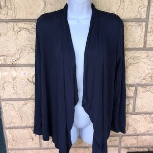 Mine Cardigan Blue Thin Cute boutique Size Med